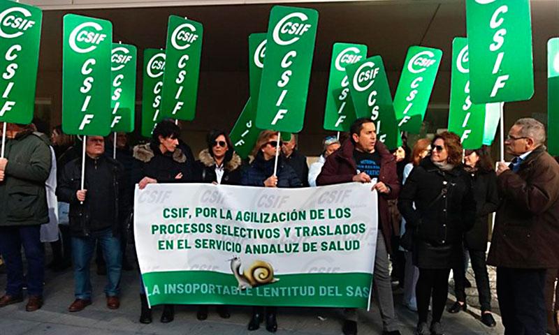 CSIF-A reclama celeridad al SAS para resolver las ofertas públicas de empleo