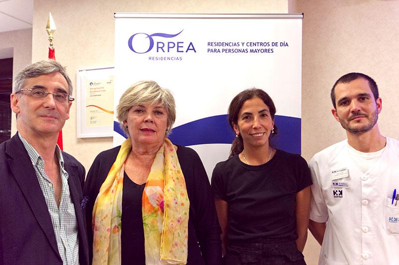 El séptimo curso de la Cátedra ORPEA 2018 en Paciente Anciano trató de las infecciones respiratorias