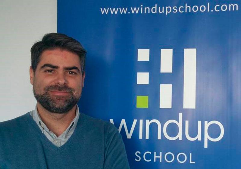 """Antonio Perles (Windup School): """"Buscamos que la formación que ofrecemos sirva para trabajar al día siguiente"""""""
