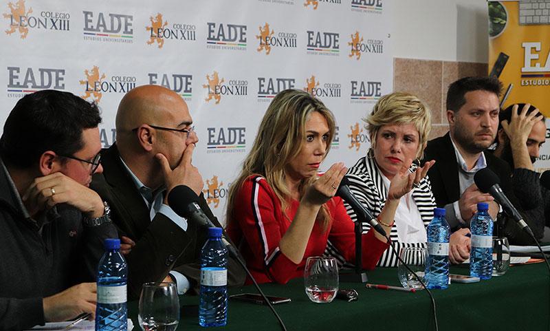 Mesa redonda en EADE sobre la cobertura informativa del caso Julen