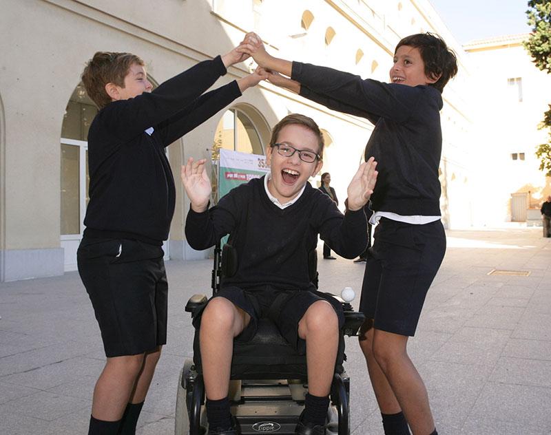 Más de 6.100 estudiantes y 90 profesores de Málaga impulsan ideas para fomentar un recreo inclusivo