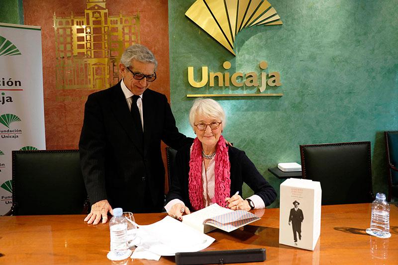 Fundación Unicaja y la Residencia de Estudiantes presentan en Málaga un epistolario de Alberto Jiménez Fraud con escritos inéditos