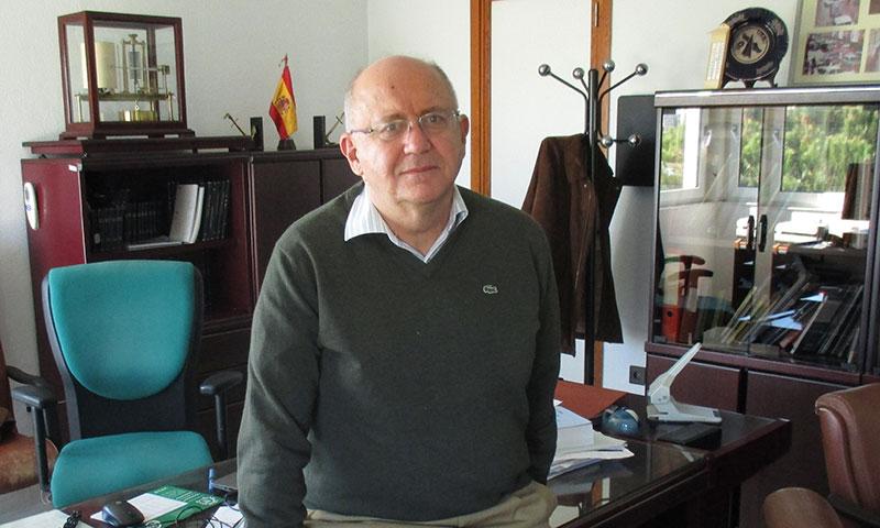 José María Sánchez-Laulhé Ollero, director del Centro Meteorológico de Málaga
