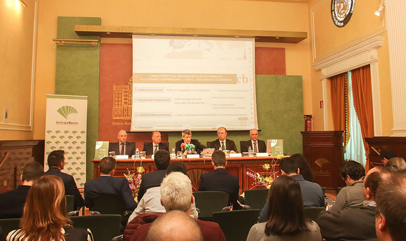 Unicaja Banco publica el informe 'Análisis Económico-Financiero de la Empresa Andaluza 2018'