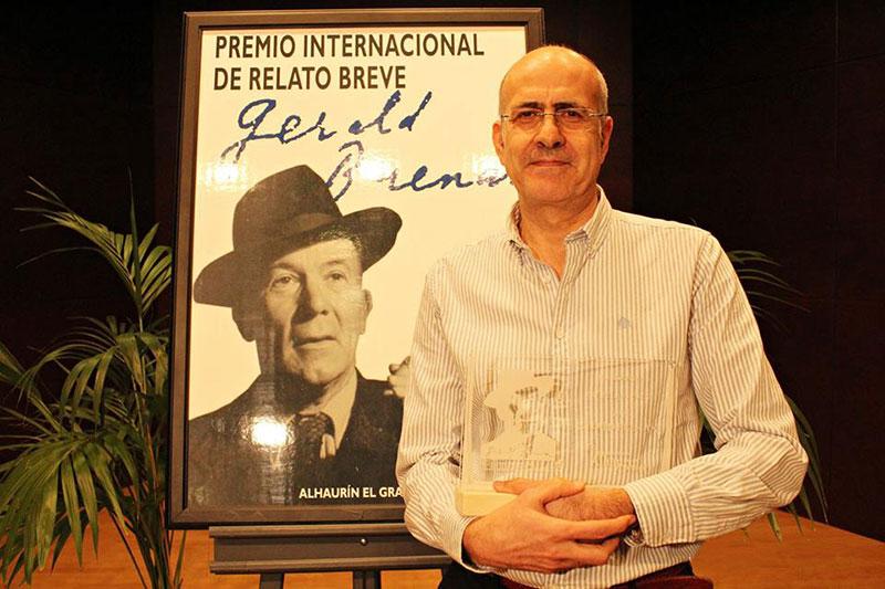 Alhaurín el Grande entrega el premio internacional de Relato Breve Gerald Brenan en su XV edición a Carlos García Valverde