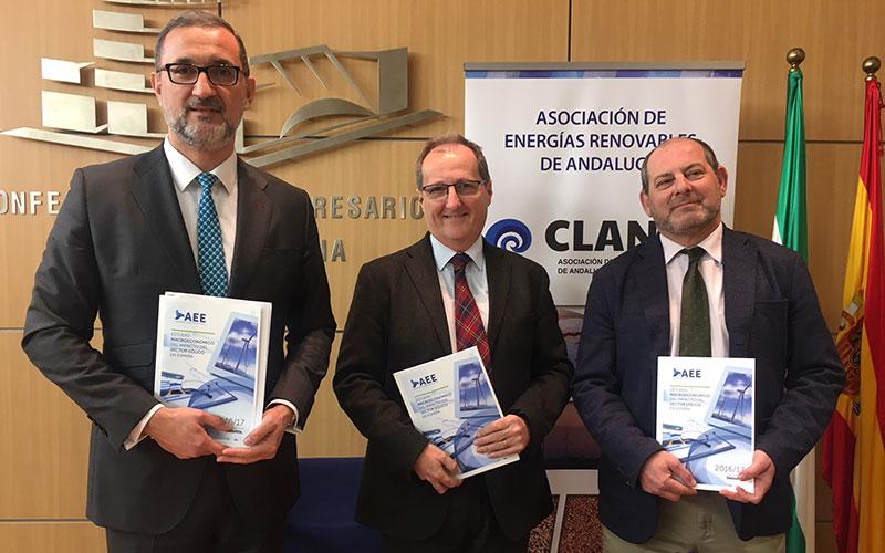 La energía eólica en Andalucía supone ya el 2,56 por ciento del PIB andaluz