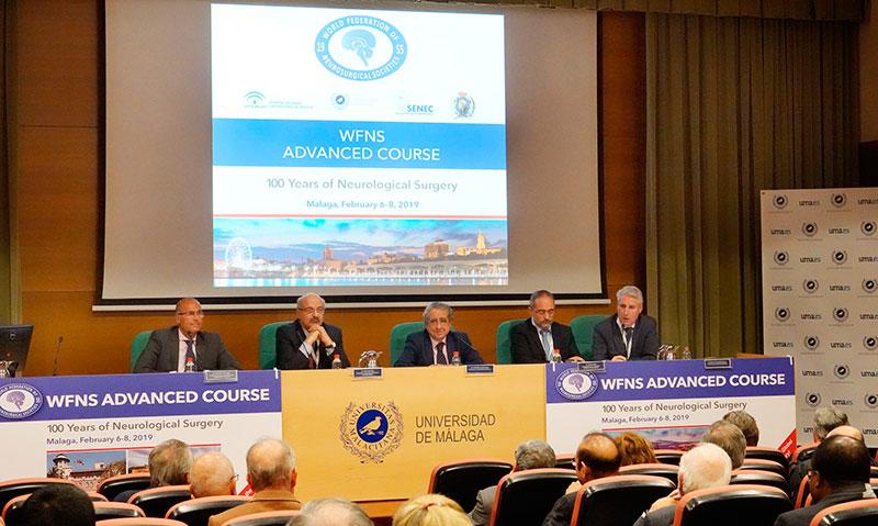 La UMA reúne a los 50 mejores neurocirujanos del mundo