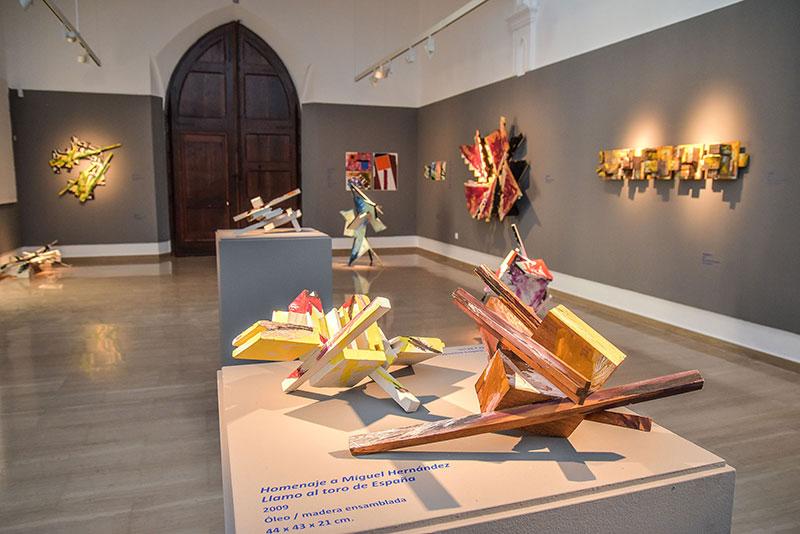 El Museo Unicaja Joaquín Peinado de Ronda acoge la exposición 'La balsa de la Medusa' de Paco Cabello