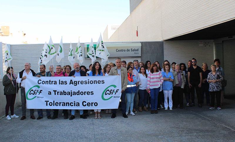 CSIF denuncia que Málaga es la provincia andaluza que registra más agresiones a trabajadores de la sanidad pública