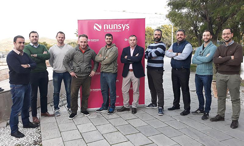 """Eugenio de la Peña, responsable de Andalucía Oriental de Nunsys en Málaga: """"Tenemos un radio de acción cuyo límite es lo que la imaginación nos deje hacer"""""""