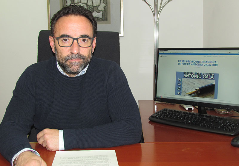 La Concejalía de Cultura de Alhaurín El Grande convoca el XIII Premio Internacional de Poesía Antonio Gala