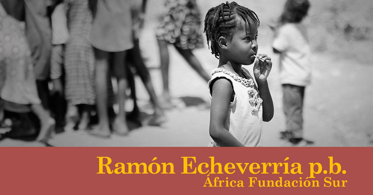 África y el cambio climático. Ramón Echeverría p.b.