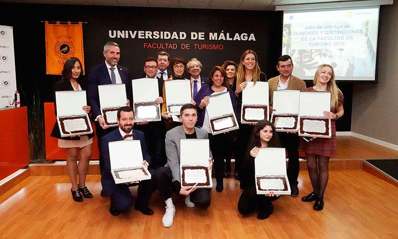 La Facultad de Turismo entrega sus honores y distinciones