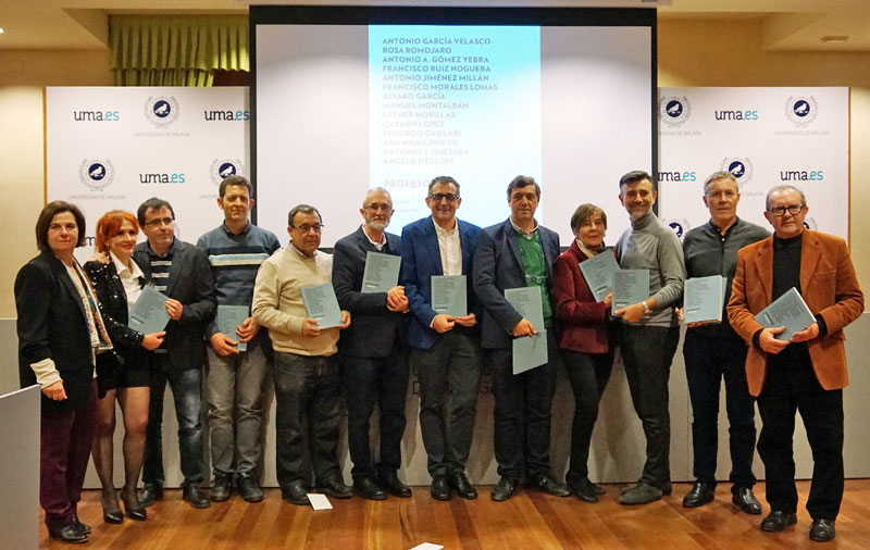 UMA Editorial presenta una antología poética de docentes de la Universidad de Málaga
