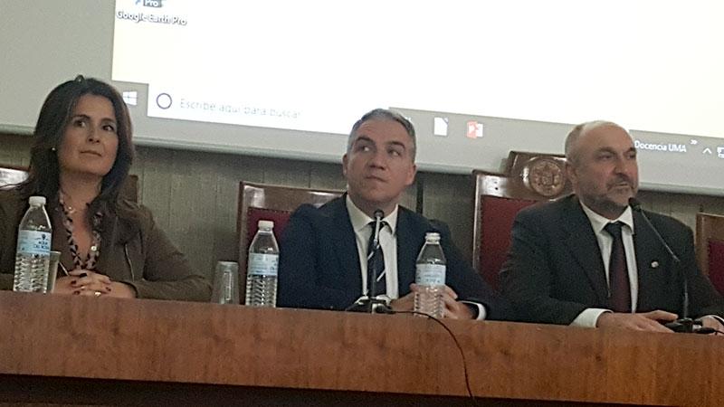 Elías Bendodo, consejero de Presidencia, partidario de no incrementar la producción legislativa