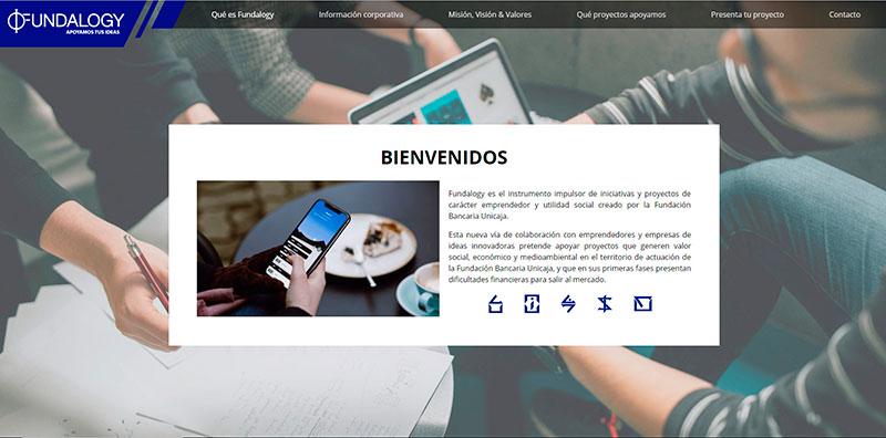 Fundalogy pone en marcha su portal web para presentar proyectos vía online