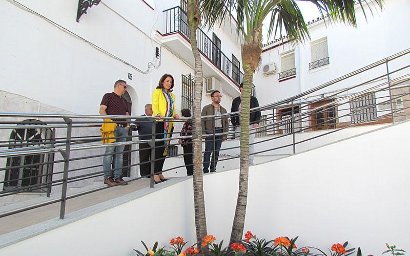 Finalizan los trabajos de mejora de la plaza de Calle Nueva en Alhaurín El Grande