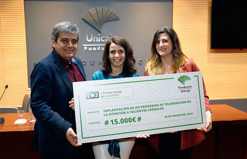 Un proyecto sobre telemedicina en atención infantil, ganador del II Premio Unicaja de Innovación en Biomedicina y Salud