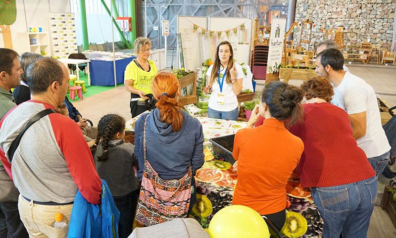 Natura Málaga convoca a más de 8.500 visitantes interesados en la alimentación y la vida saludable