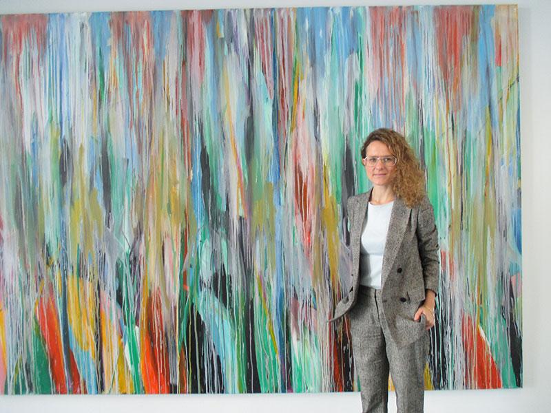 "Vanesa Díez, directora del Museo: ""Jorge Rando va a ser el primer pintor de occidente que exponga en el Museo Memorial de Qi Baishi"""