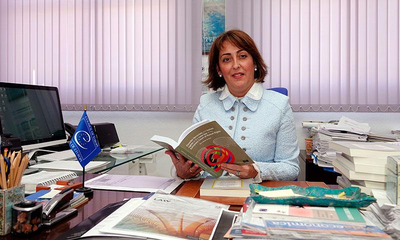 """Ana Salinas es nombrada jueza """"ad hoc"""" del Tribunal de Derechos Humanos de Estrasburgo"""