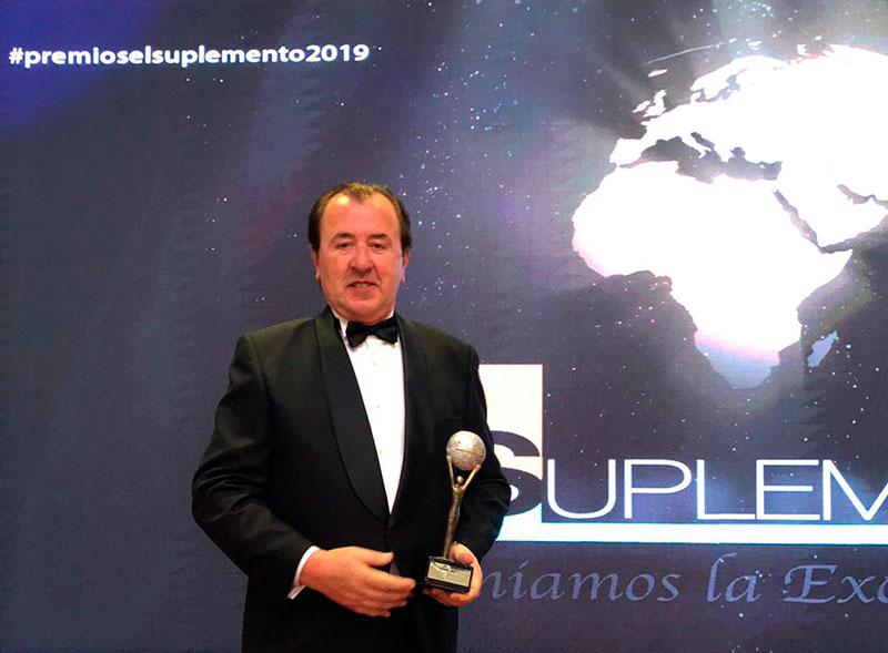 FQS – Farmaquímica Sur recibe el galardón en I+D+i en los Premios Nacionales El Suplemento 2019