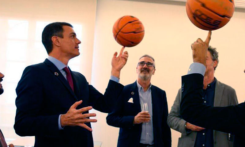 """Deja de joder con la pelota… Pedro Sánchez"". María José Muñoz"