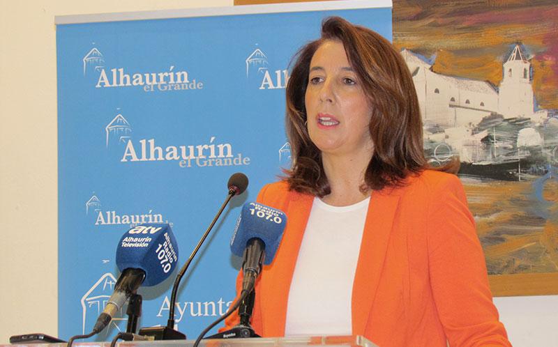 La alcaldesa de Alhaurín El Grande convoca el pleno de la moción de censura para el 11 de mayo