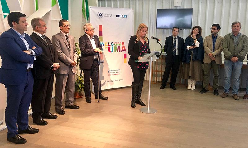 Welcome to UMA, una oficina para facilitar la estancia de visitantes internacionales