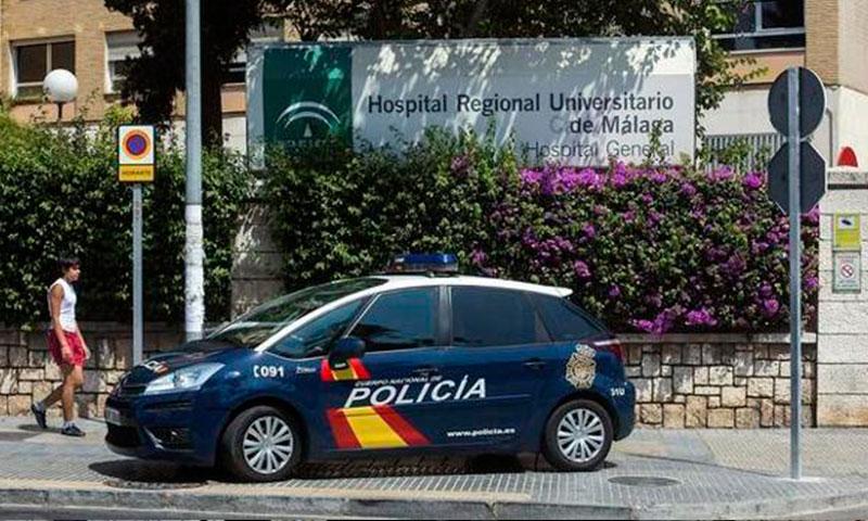 CSIF Málaga condena la grave agresión sufrida por una doctora, un celador y dos vigilantes del Hospital Regional