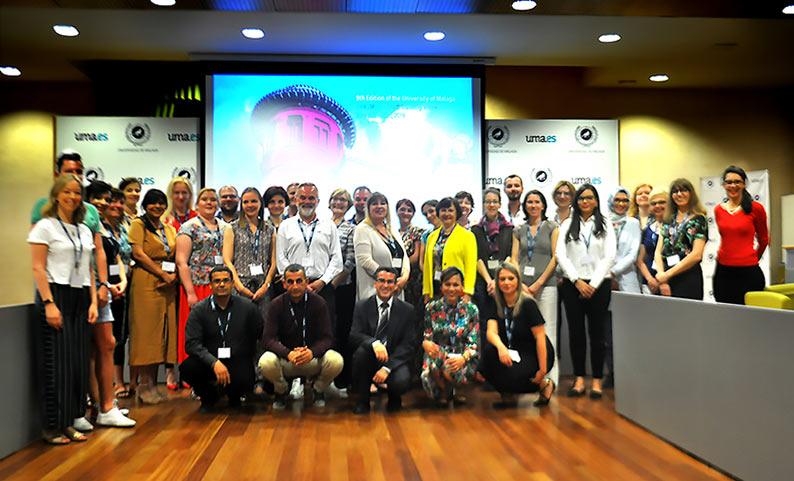 La UMA organizó la IX edición de la semana de formación internacional Erasmus+