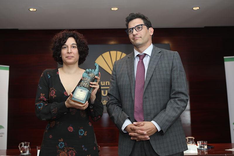 Fundación Unicaja entrega el XXXIII Premio Unicaja de Poesía a Olalla Castro
