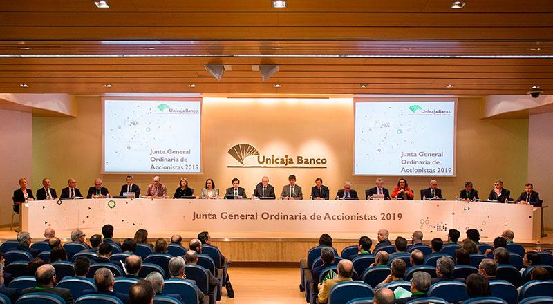 El Grupo Unicaja Banco obtiene un beneficio neto de 63 millones de euros en el primer trimestre de 2019, un 10,2 por ciento más