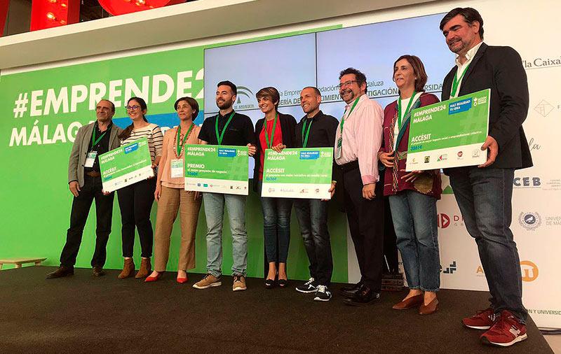 Dos arquitectos de la UMA, premios Emprende24 Málaga