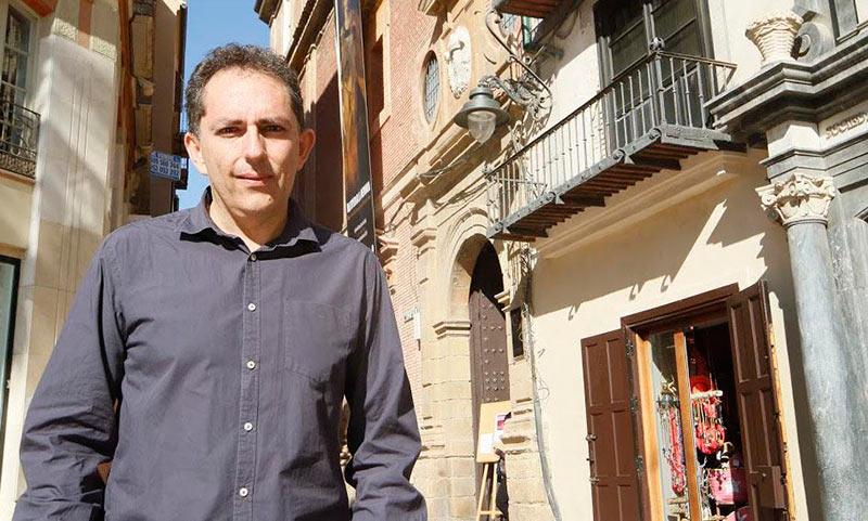 Francisco Javier Jiménez, presidente del Colegio de Trabajo Social de Málaga
