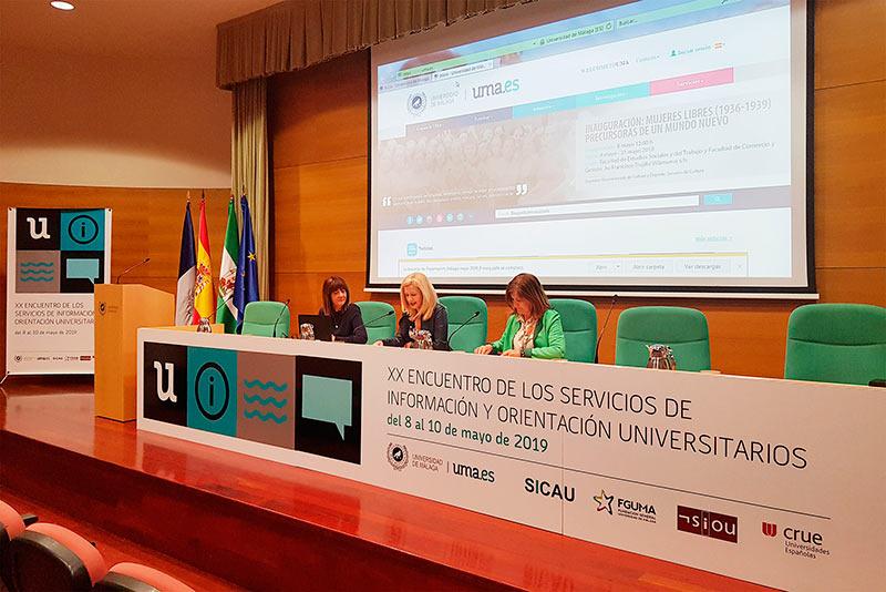 Los servicios de información de las universidades españolas participan en unas jornadas