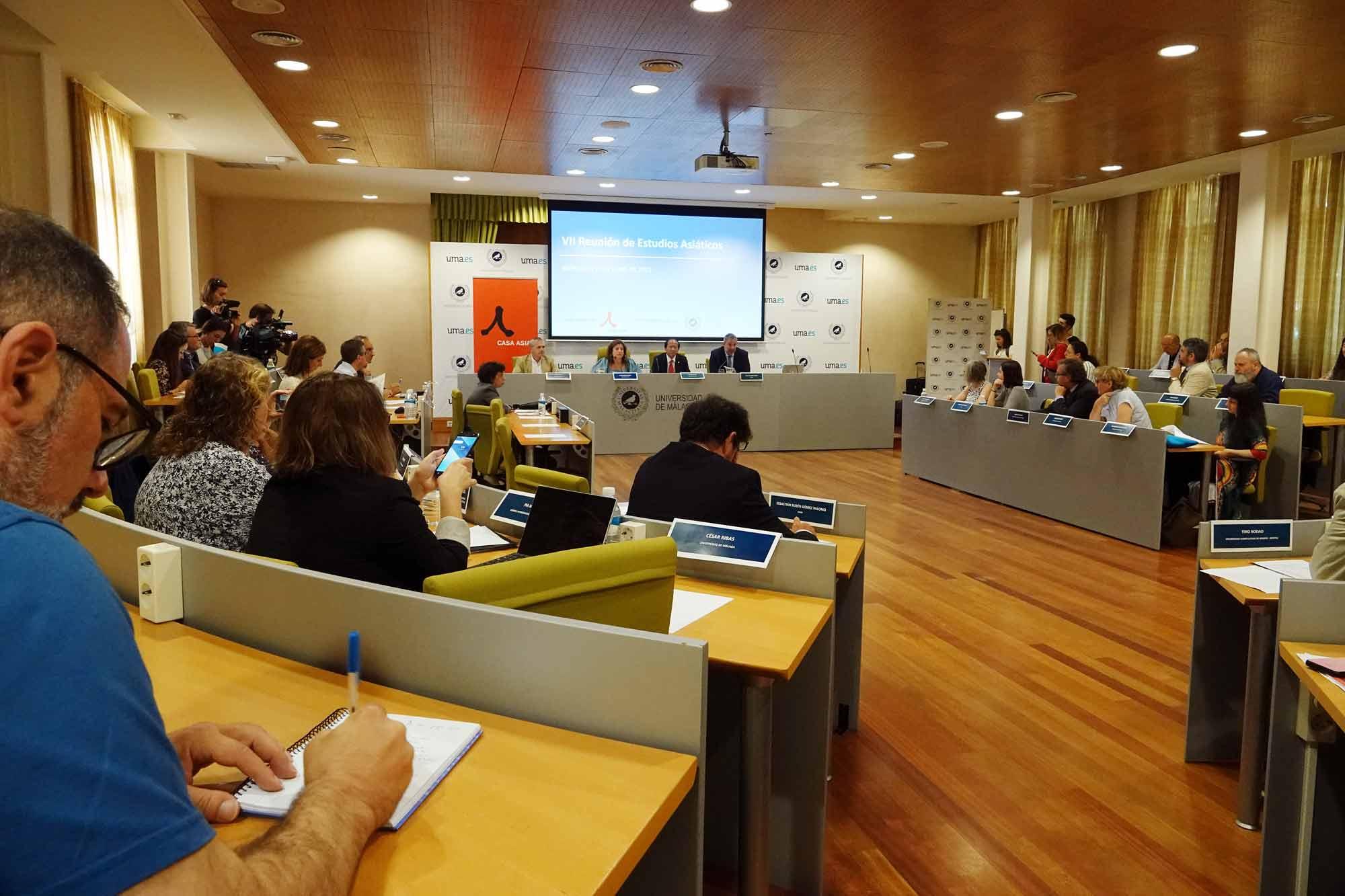 El Rectorado acoge el VII encuentro de universidades con estudios asiáticos