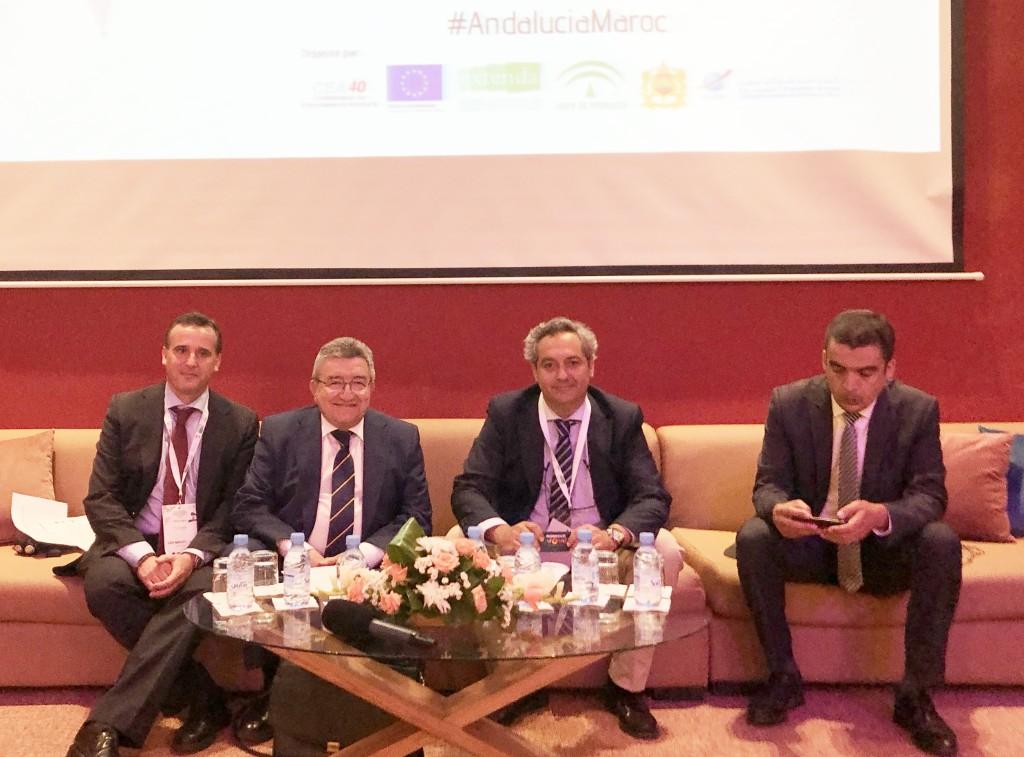 CLANER muestra el desarrollo andaluz en renovables en un encuentro empresarial en Marruecos