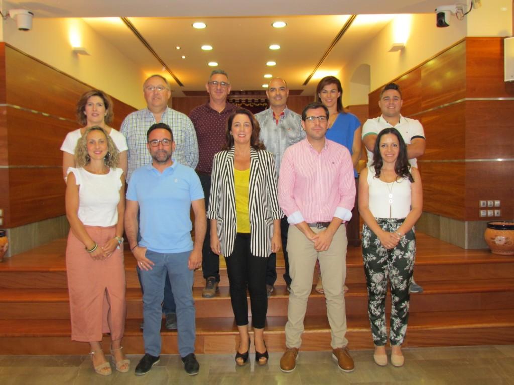 La alcaldesa de Alhaurín El Grande, Toñi Ledesma anuncia las nuevas Delegaciones Municipales