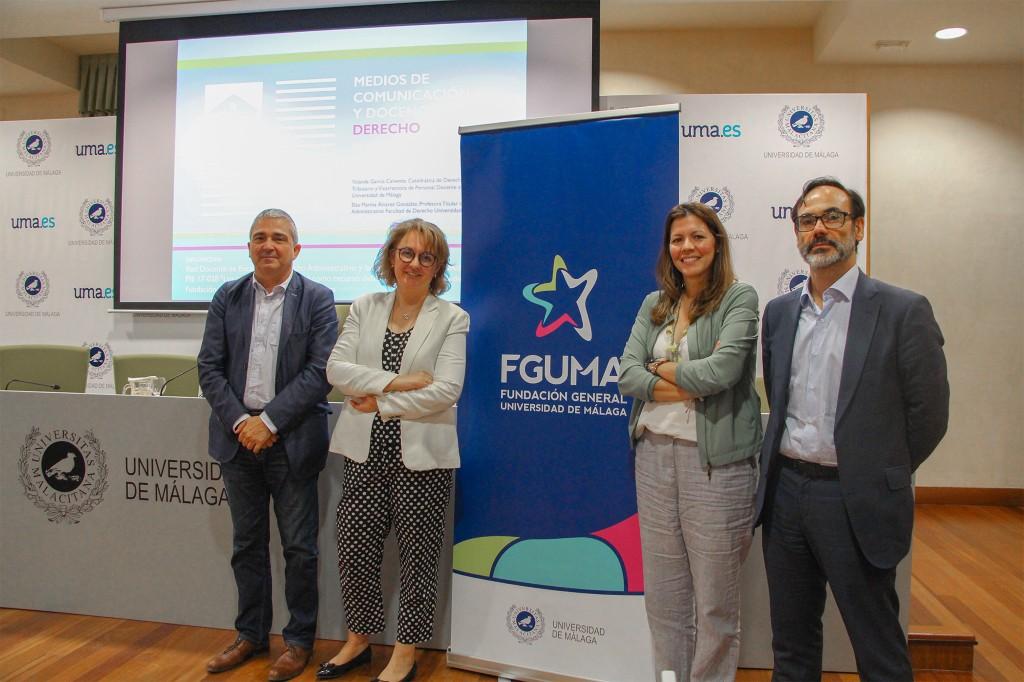 Medios de comunicación y Derecho, a debate en unas jornadas en la Universidad de Málaga