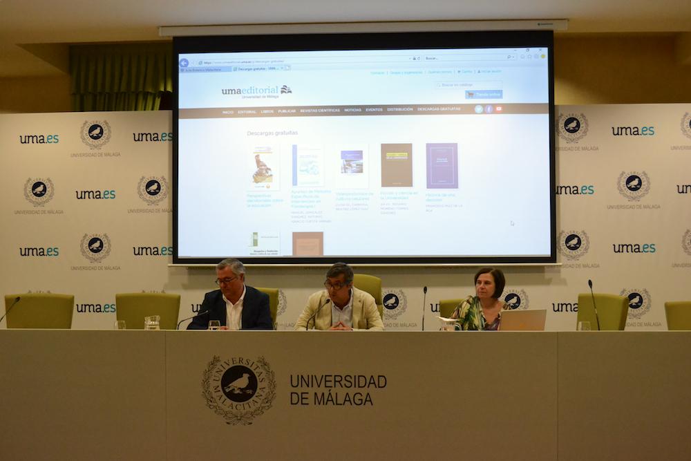 La Universidad de Málaga lanza el sello UMA Editorial