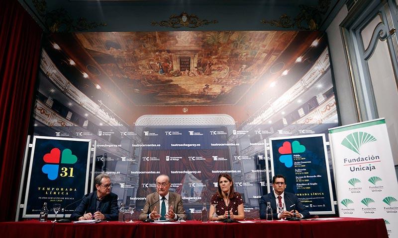 Fundación Unicaja vuelve a respaldar la Temporada Lírica del Teatro Cervantes que contará con obras como 'Fidelio' o 'La casa de Bernarda Alba'