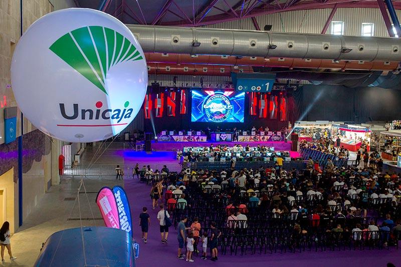 Unicaja Banco reafirma un año más su apoyo al Festival de Videojuegos Gamepolis y colabora como único banco patrocinador oficial