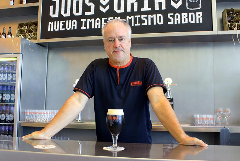 Entrevista con Eduardo Sall Reina, director de la Fábrica Cervezas Victoria y maestro cervecero