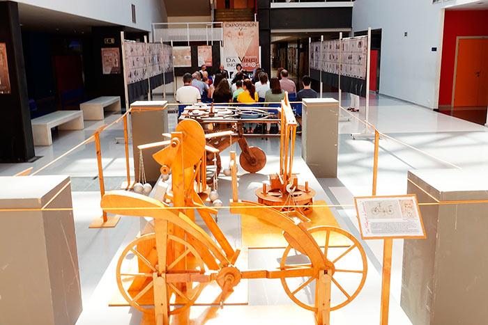 La UMA reivindica la faceta de ingeniero de Leonardo Da Vinci en el 500 aniversario de su muerte