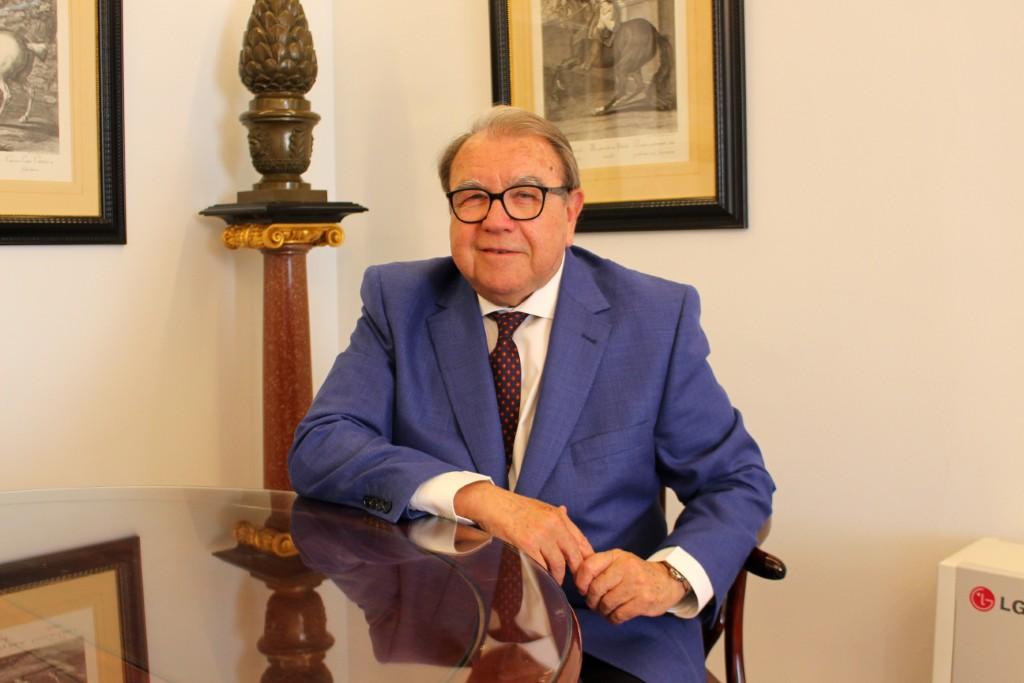 Entrevista con Jerónimo Pérez, presidente de la Asociación de Consignatarios de Buques y de la Cámara de Comercio de Málaga