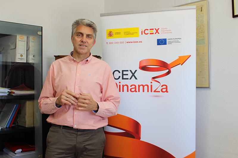 Rafael Fuentes Candau, director provincial de Comercio y del ICEX en Málaga (Ministerio de Industria, Comercio y Turismo)