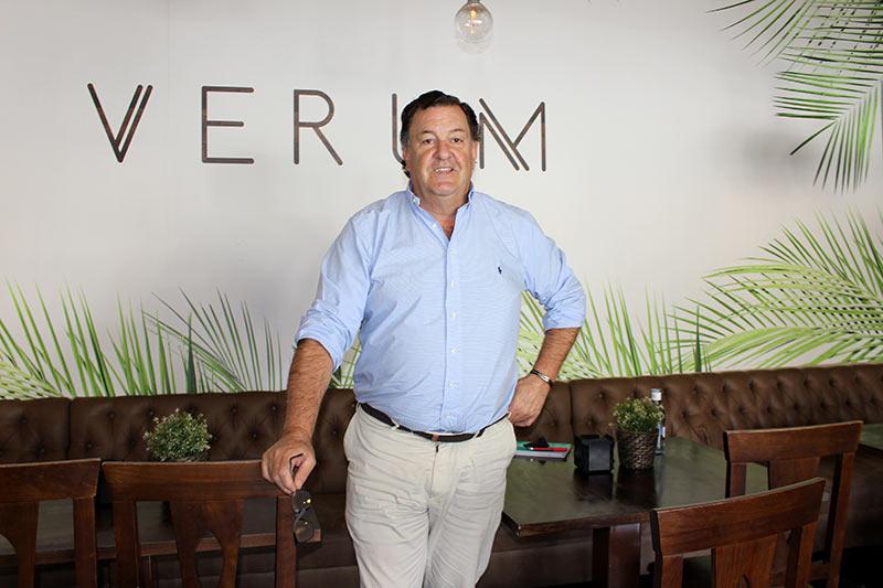 Entrevista con Ramón Berzosa, gerente del restaurante Verum