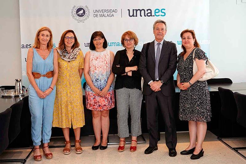 La UMA presenta dos convenios para la incorporación de profesores Fullbright estadounidenses