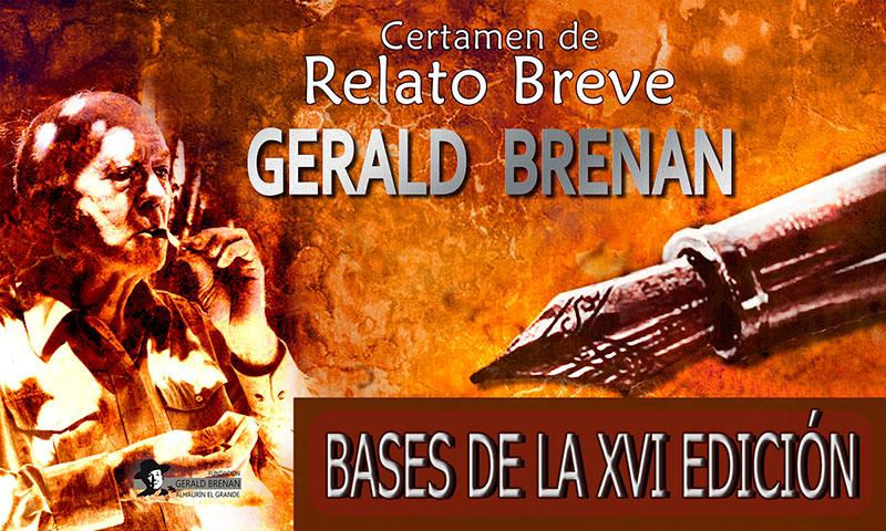 El Ayuntamiento de Alhaurín el Grande convoca el XVI Certamen de Relato Breve Gerald Brenan